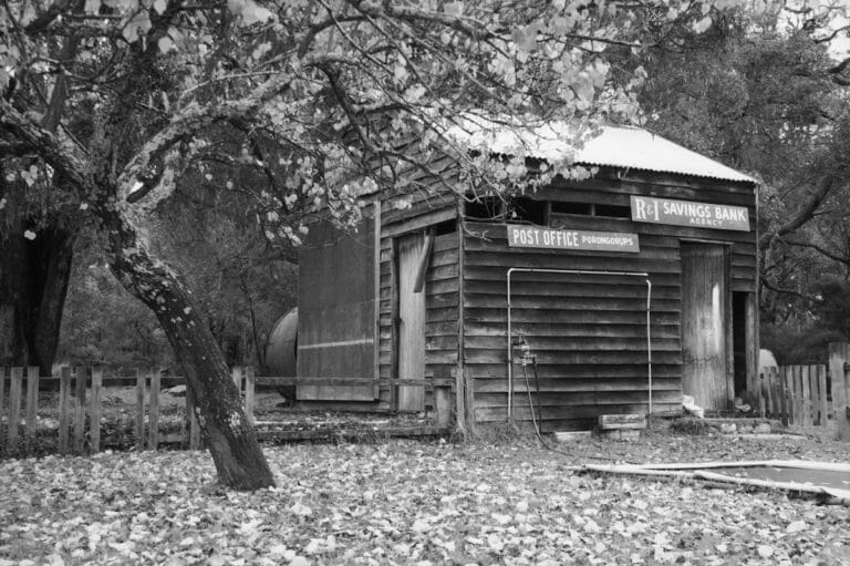Original Porongurup Post Office located at the rear of the Shop