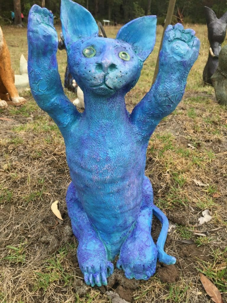 Kitty Kitty by Plantagenet Potters, 2018 Art in the Park