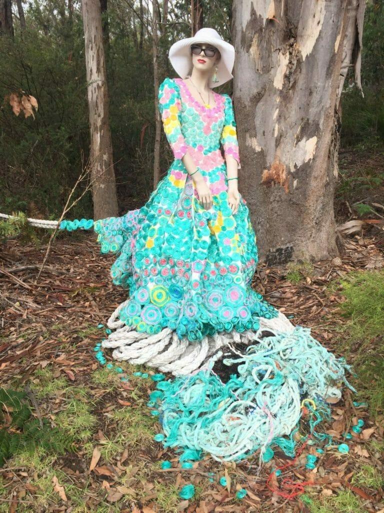 Ocean Bride by Dolphie Diggins, 2018 Art in the Park