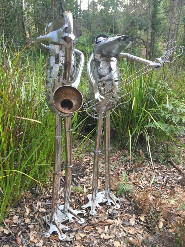 Frogs in the Park by Lance Reid, 2018 Art in the Park