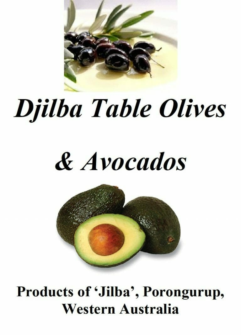Olives and Avocados at Jilba Cottage