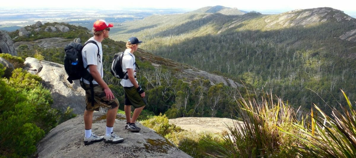 Granite Skywalk, Castle Rock - Porongurup National Park - Credit Down Under Discoveries