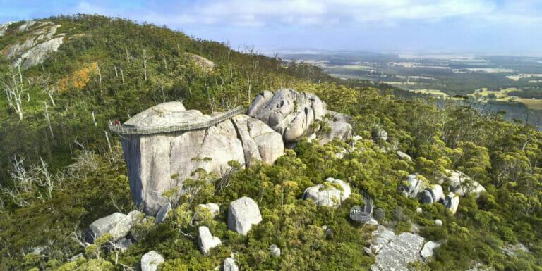 Castle Rock Granite Skywalk, Porongurup