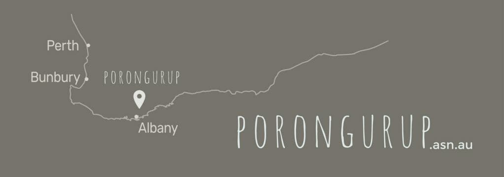 Porongurup Location Map